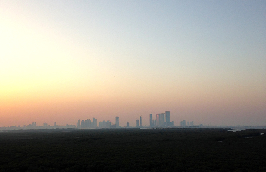 Good morning… Abu Dhabi ☼