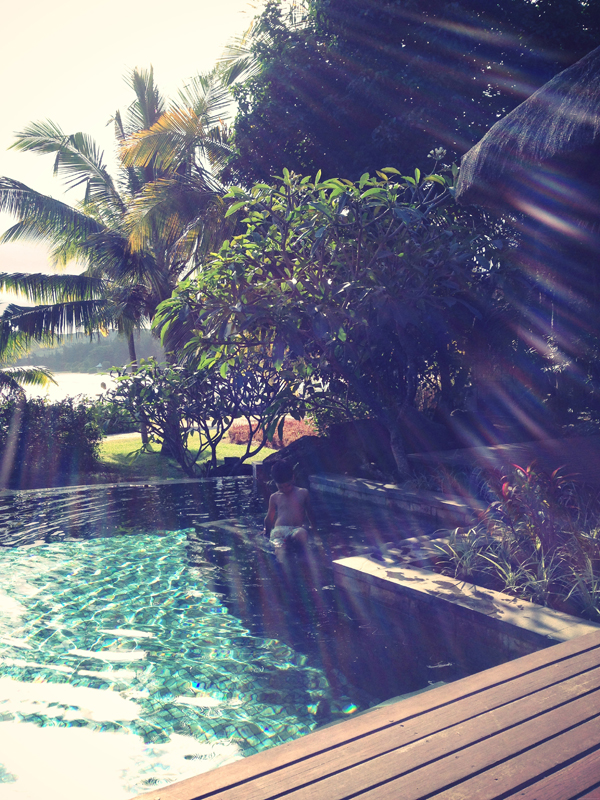 A day at the Shanti Maurice