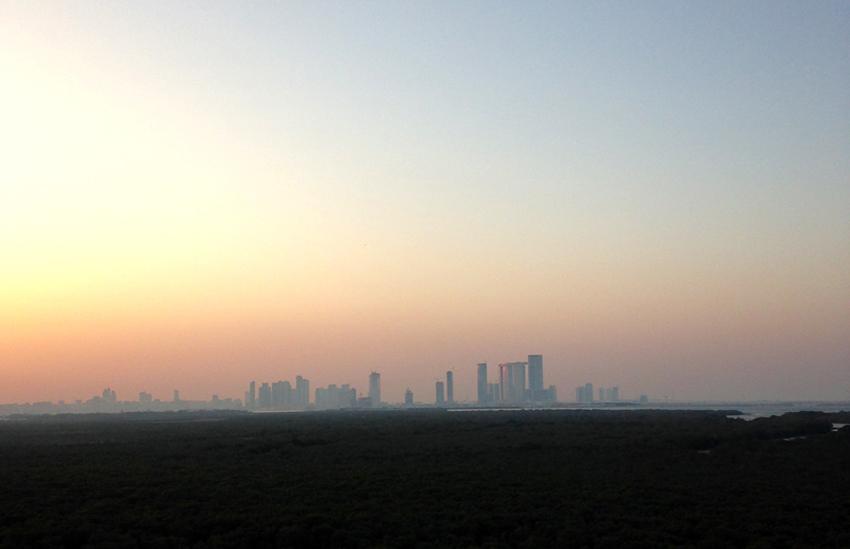 Good morning… Abu Dhabi ☼