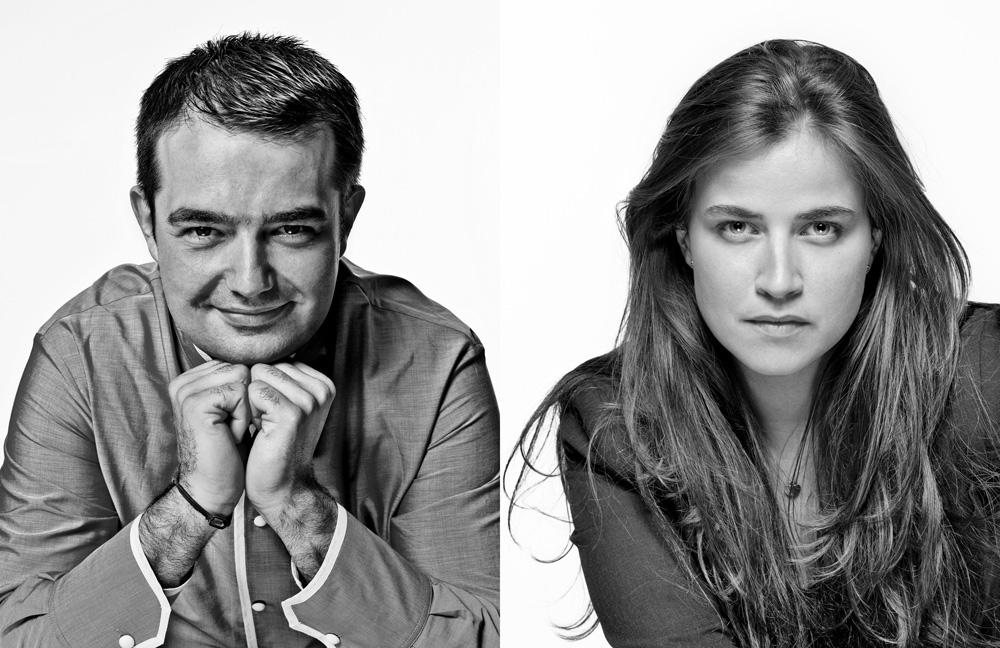 Elodie et Jean-François Piège – Restaurateurs